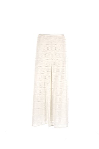Pantalone Donna Toy G 46 Bianco Los Frentones Primavera Estate 2016