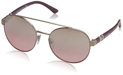Bulgari Damen 0Bv6085B 20217E 55 Sonnenbrille, Braun Brown/Pink