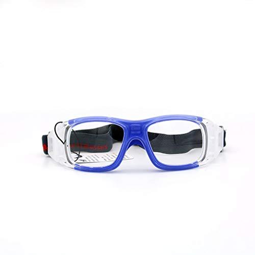 GreatWall Basketball Brillengestell Sportbrillen Explosionsgeschütztes Angeln Myopia Blue -