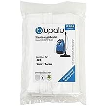 blupalu I - Bolsas para aspiradora AEG Vampyr Samba I (10 Unidades, con Filtro