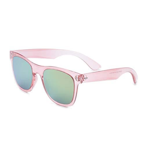 Daesar Sonnenbrille Outdoor Rosa Damen Sonnenbrille Trend Damen mit Harz Linse