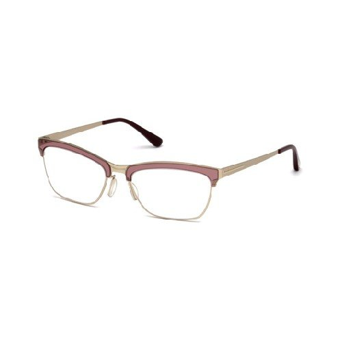 Tom Ford - FT 5392, Schmetterling, Metall, Damenbrillen, MATTE GOLD CORAL(071 M), 54/18/135