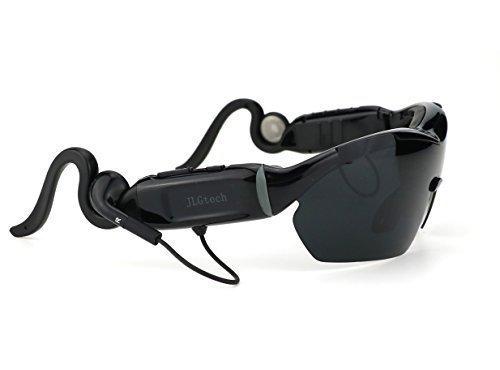 GLASSES Radfahren polarisierte Sonnenbrille Bluetooth Headset Touch-Funktion drahtloser Kopfhörer mit Mikrofon für iPhone Samsung LG