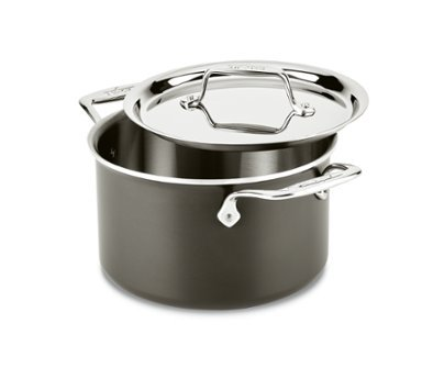 All-Clad 8701005445 Ltd Cookware, 4Qt Soup pot, Black