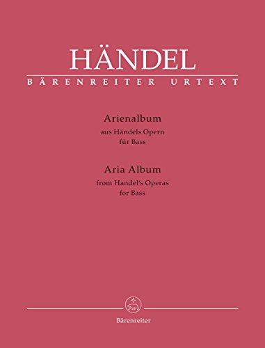 Arienalbum für Bass (Airs d'opéras pour voix basse) ---- Voix basse et Piano