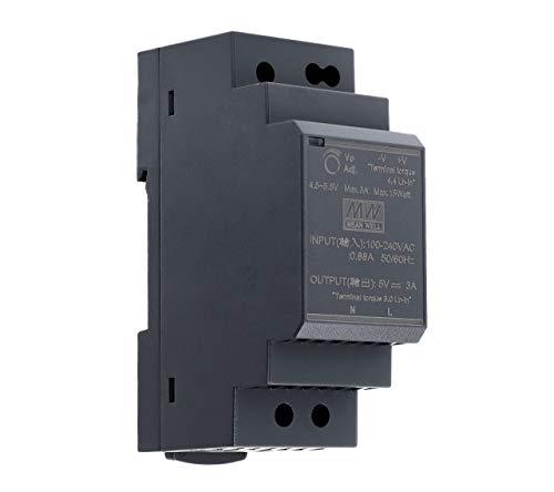 5 VDC | 3 A | 15 Watt | Mean Well HDR-30-5 Hutschienen-Netzteil DIN-Rail