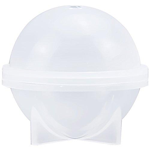 musykrafties - Moule rond en silicone pour résine époxy, bijoux, cire de bougie, savon fait maison, bombe de bain, 1.6 inch