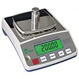 Laboratory Balance Tree HRB6001 6000g / 0.1g Digital Weigh Tare Portable Pharmaceutical Medical Biology Precision Home Kitchen Scientific University Jewellery Scale