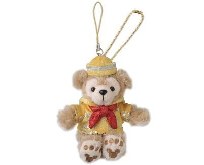 192f80bcc643 [Tokyo Disney Resort 30th Anniversary] Duffy stuffed strap The Happiness  Year [DisneySea-limited] Duffy DUFFY sherry May Disney (japan import)