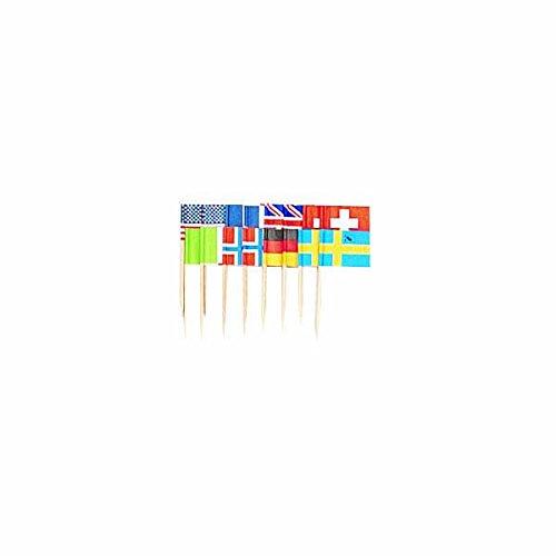 amscan-international-flags-food-picks