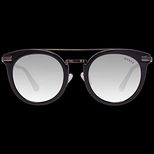 guess sunglasses gf6046 01b 49 occhiali da sole, nero (schwarz), donna
