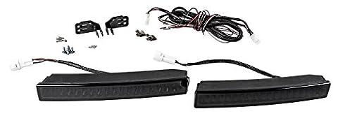 BLACK-SLIM TAGFAHRLICHT 18 x 2 SMD LED TÜV R87 mit DIMMFUNKTION