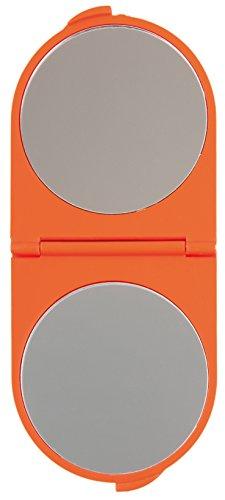 Titania à rabat miroir rond couleurs assorties Env. 14 x 6 cm, sur Skin Carte, différentes couleurs, 1er Pack (1 x 52 G)