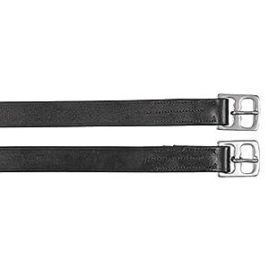 Kerbl Covalliero Steigbügelriemen Leder schwarz
