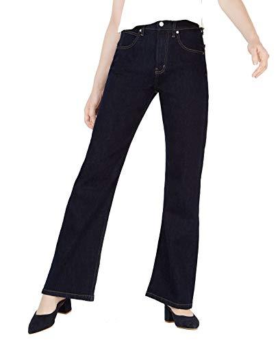 Calvin Klein Jeans Womens 30x30 High-Rise Bootcut Jeans Blue 30 - Calvin Klein Bootcut Jeans