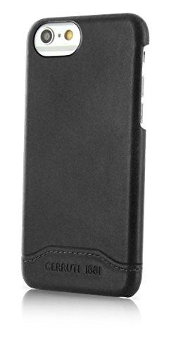Cerruti 1881Smooth Split in pelle Custodia Case Cover Per Apple iPhone 7Plus nero
