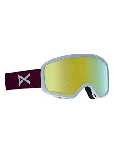 Anon Damen DERINGER MFI Snowboardbrille, Purple/Sonar Bronze