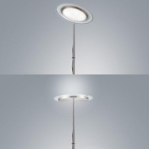 Stehlampe Stehleuchte Wohnzimmer Deckenfluter LED Fluter Standleuchte Warmweiss