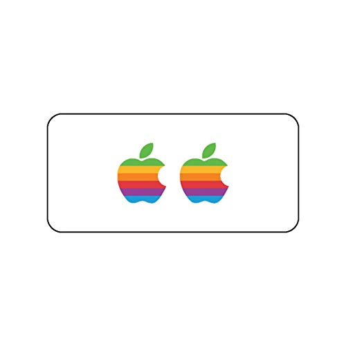 Pack 2 pegatinas logotipo Apple diseño