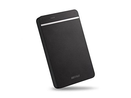 Buffalo MiniStation HD-PGD500U3-EU 500 GB Externe Festplatte (6,4 cm (2,5 Zoll), 5400rpm, 8MB Cache, USB 3.0, DDR-Cache-Speicher) schwarz