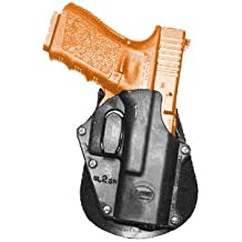 étui de pistolet Light Fobus Police Wide Belt Hand Gun Holster Model GL-2 SH-BHP. Fits to: Astar R-900 XS, Glock 17, 19, 22, 23, 32, 34, 35. Tactical Hard Polymer