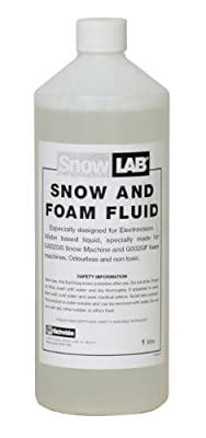 Soundlab Clear 1 Litre Bottle of Snow and Foam Fluid
