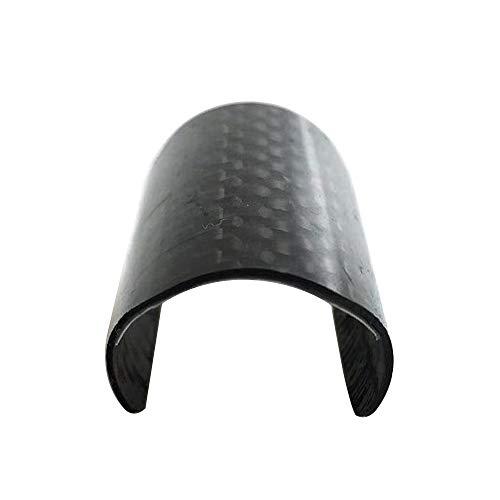 Aceoffix Schutzfolie, für hintere Rahmen, Karbon-Schutz für Brompton, Gabel, Karbon, Schutzflicken für Fahrrad, Zubehör Fasergabel