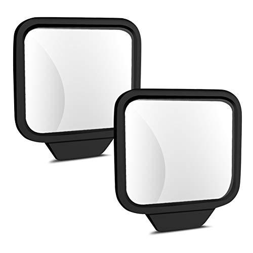 Kegiit Auto-Rücksitz-Rückspiegel 360-Grad-justierbarer Silikon-klarer Linsen-Magnetsockel