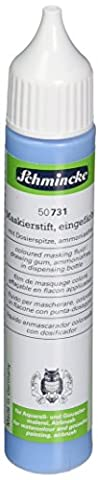 Schmincke Masking Fluid 25ml Blue Dispensing Bottle