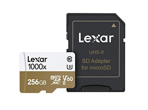 Tarjeta Lexar Professional 1000x 256GB microSDXC UHS-II