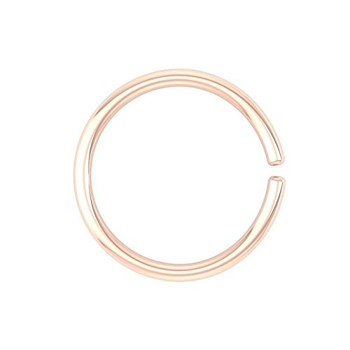 Peenzone 18K Rose Gold Nose Pin For Women