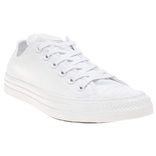Converse Damen Chuck Taylor All Stars Sneaker, Weiß White/Silver 000, 39 EU (Weiß Damen Converse)