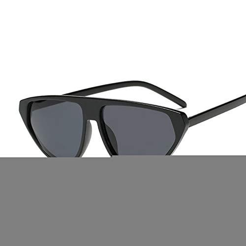 ZRTYJ Sonnenbrille Sonnenbrillen Coole Trendy Half Frame Cat Eye Sonnenbrille Frauen Fashion Clear Sonnenbrille Für Weibliche Oculos De Sol