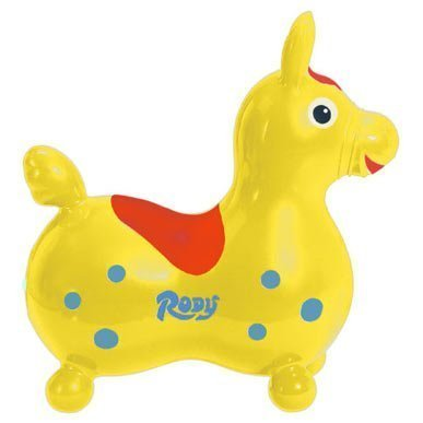 Gymnic / Rody Inflatable Hopping Horse, Yellow by Ledraplastic SpA [Toy]