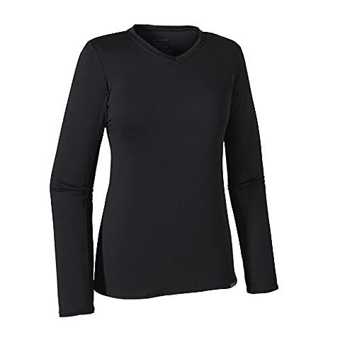Patagonia Capilene Daily–Women's Long-Sleeved T-Shirt Black black Size:XL