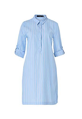 HALLHUBER Gestreiftes Hemdblusenkleid körperumspielend geschnitten Multicolor, 40