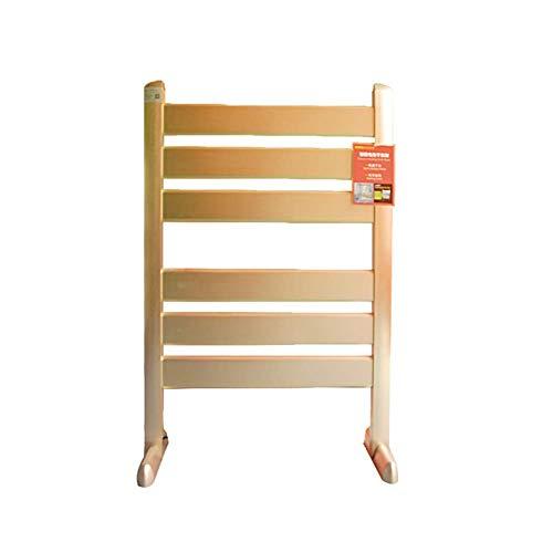 OHHG Elektrisch beheizter Handtuchhalter, bodenstehender, beweglicher, durchschlagsfreier Badezimmer-Heiz- und Wäscheständer aus Aluminiumlegierung 90w - 90w Tipp