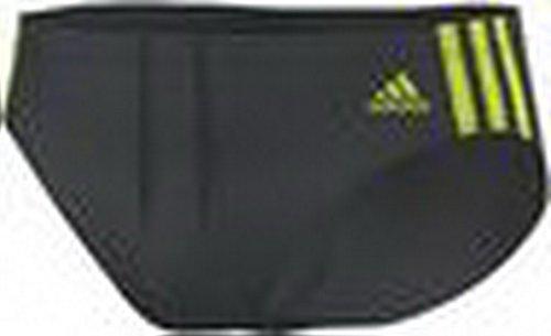 adidas Herren Badehose Infinitex 3-Stripes Trunk DKGREY/SESOYE