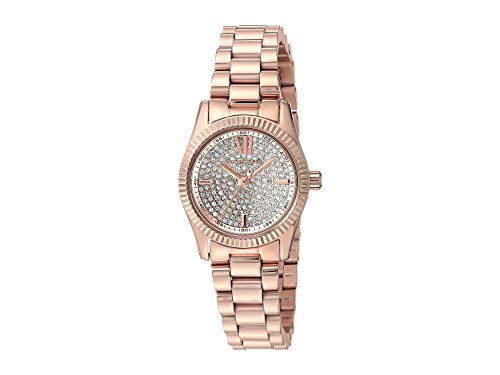 Michael Kors Women's Lexington Pave Rose Gold One Size