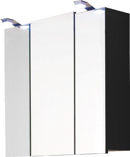 Spiegelschrank anthrazit, 68 cm
