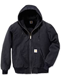 f5d7b596f19b Carhartt Men  s Big   Tall Quilted flannel-lined Sandstone Active Jacke J130