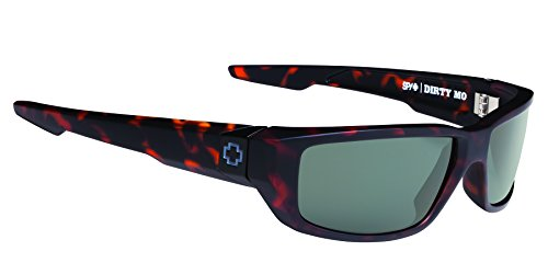 Spy Sonnenbrille Dirty MO, Matte Camo Tort-Happy Gray Green, One Size, SPYGLA_DIRM