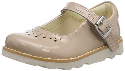 Clarks Mädchen Crown Jump T Schuhe, Beige (Blush), 25.5 EU -