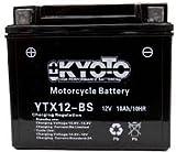 Batterie Moto KYOTO Ytx12-bs - Ss Ent. Acide L 150mm W 87mm H 131mm 12v 10ah Acide...