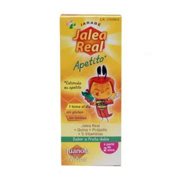 Juanola 1752499 Jalea Real Apetito Niños - 150 ml