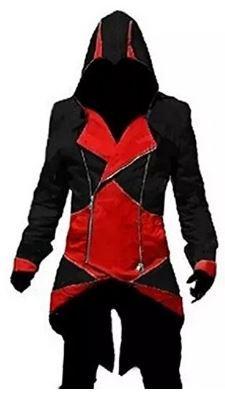 mega-bazar-assassins-creed-3-cotton-conner-kenway-hoodie-coat-jacket-cosplay-medium-black-and-red