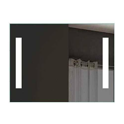 Lux-aqua Espejo del baño Espejo con luz LED de Pared para baño 80 x 60 SPE8060H