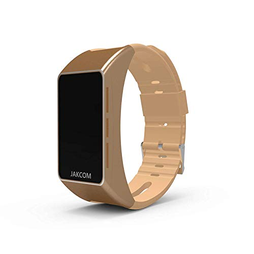Tragbare Vorrichtung Als Smart Watch Herzfrequenz-Test Bluetooth Ohrhörer Kompatibel Für Iphone Und Android 3,Gold