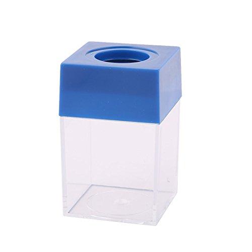 sourcingmap® Accueil Bureau forme carrée plastique Clip Papier porte-conteneur distributeur boîte