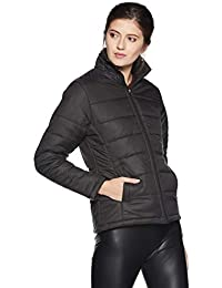 Qube By Fort Collins Women's Nylon Bomber Jacket